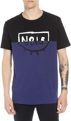 French Connection Colorblock Split T-Shirt
