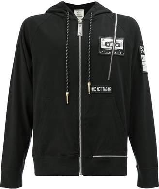 Miharayasuhiro hooded patch jacket