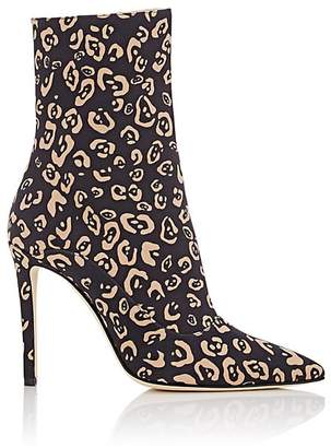 Altuzarra Women's Cady Leopard-Print Ankle Boots