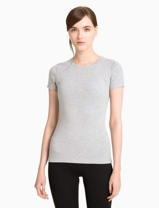 Calvin Klein pima cotton stretch crewneck t-shirt