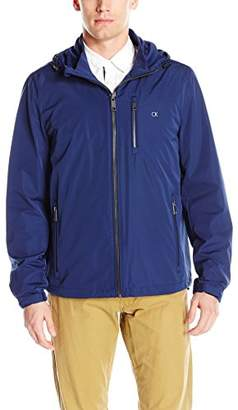 Calvin Klein Men's Windbreaker Hooded Jacket