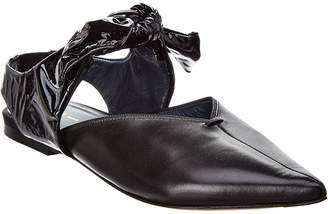 Celine Knotted Leather Flat
