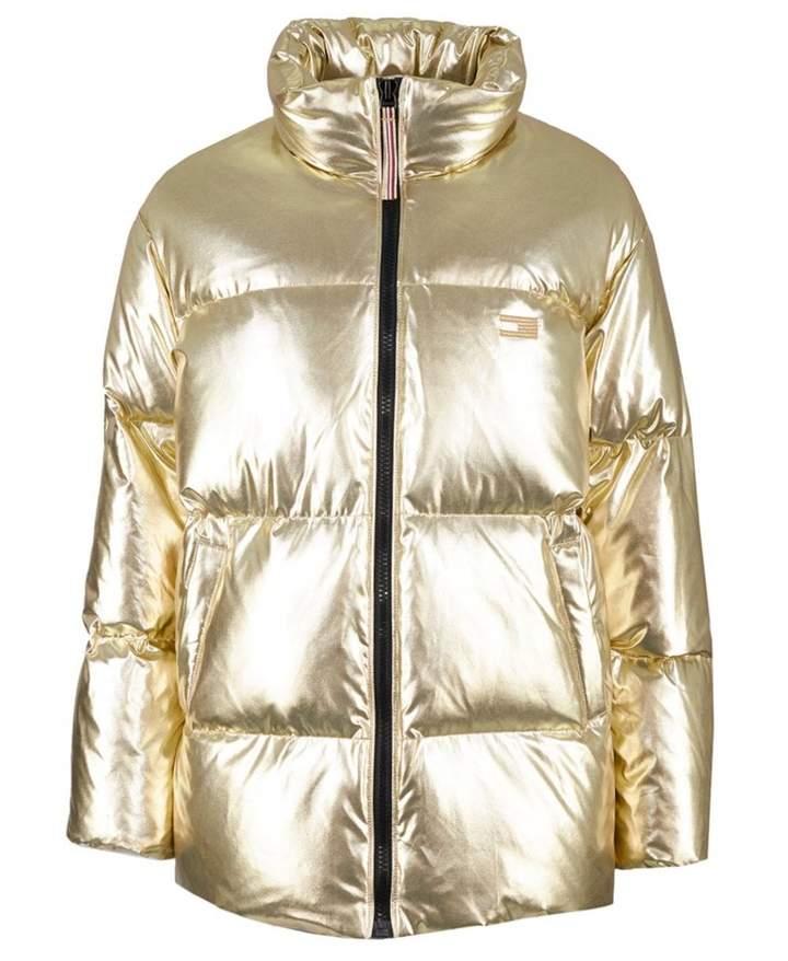 Icon High Gloss Puffer Coat