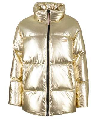 9fec03000c5 Tommy Hilfiger Icon High Gloss Puffer Coat Colour: GOLD, Size: MEDIUM