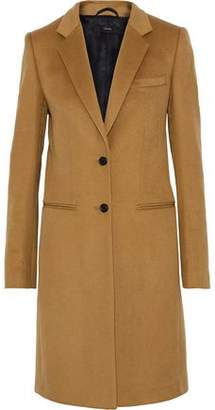 Joseph Man Brushed Wool And Cashmere-Blend Coat