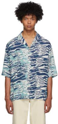 Tiger of Sweden Blue Penner Shirt