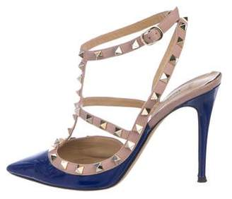 Valentino Rockstud Patent Leather Pumps