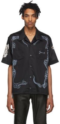 Givenchy Black Icarus Hawaiian Shirt