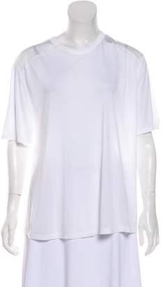 Alexander Wang Silk Accented Oversize T-Shirt