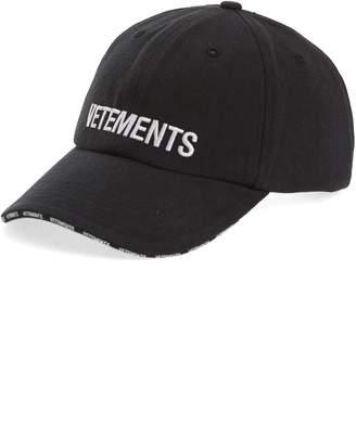 Vetements Logo Baseball Cap