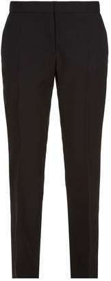 Burberry Tapered Cropped Trousers
