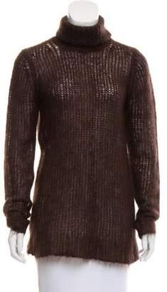 Michael Kors Cowl Neck Mohair Sweater
