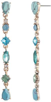 Carolee Stone Linear Earrings