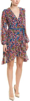 Betsey Johnson Chiffon Midi Dress