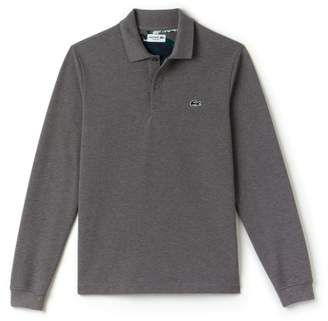Lacoste Men S Long Sleeves Polo