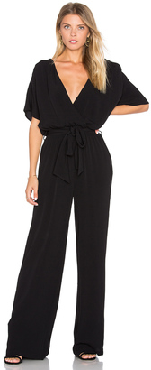 LA Made Christy Belted Jumpsuit $127 thestylecure.com