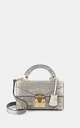 Stalvey Women's Top-Handle Mini Lizard Satchel - Natural