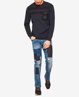Armani Exchange Men's Slim-Fit Patchwork Jeans
