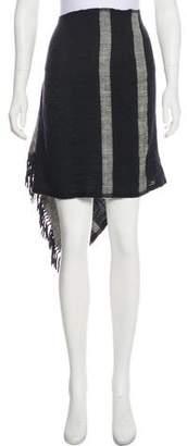 Lemlem Wool Midi Skirt