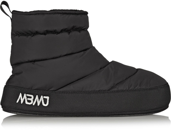 Marc By Marc JacobsMarc by Marc Jacobs Galaxy fleece-lined quilted shell boots