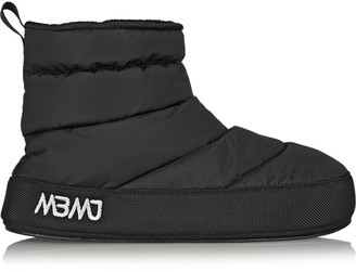 Marc by Marc Jacobs Galaxy fleece-lined quilted shell boots $290 thestylecure.com