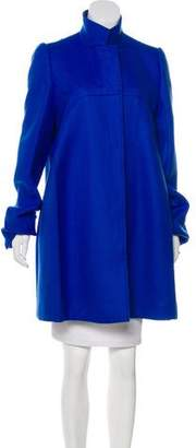 Stella McCartney Wool Knee-Length Coat
