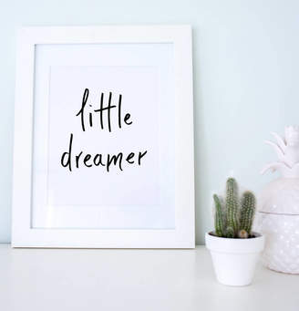 Sincerely May 'Little Dreamer' Nursery Artwork Print