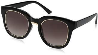 Foster Grant Item 8 Bg.4 Square Black Women's Designer Sunglasses
