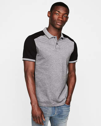 Express Stretch Pique Tipped Polo
