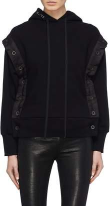 Taverniti So Ben Unravel Project Detachable sleeve hoodie