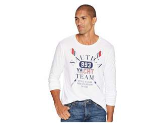 Nautica Long Sleeve Yacht Team Crew T-Shirt