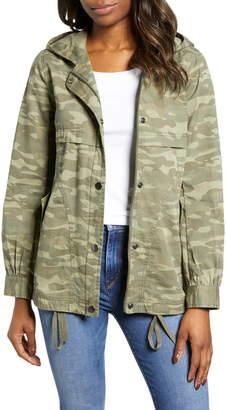 6d5d5c61299 Caslon Hooded Utility Jacket