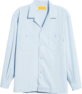 Union Los Angeles Long Sleeve Button-Up Camp Shirt