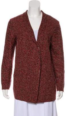 Tory Burch Merino Wool Medium-Weight Cardigan