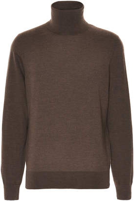 Ermenegildo Zegna Silk Cashmere Turtleneck Sweater