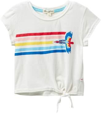Appaman Phing Side Tie Bright Flight Parrot Tee (Toddler, Little Girls, & Big Girls)