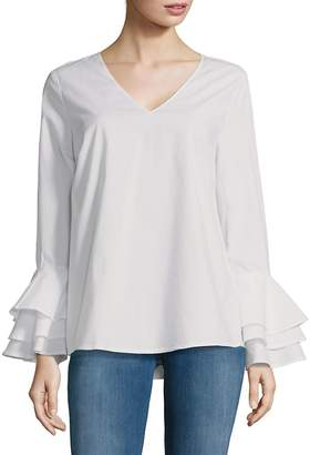 Love Scarlett Women's Bell-Sleeve Top