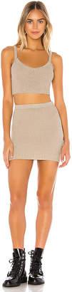 superdown Shadae Knit Skirt Set