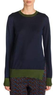 Marni Contrast Cashmere Sweater