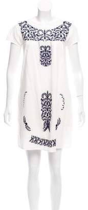 Roberta Roller Rabbit Embroidered Shift Dress