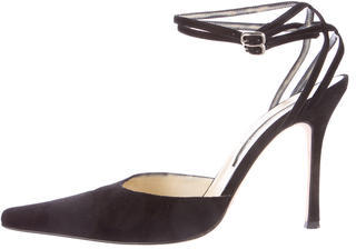 Brian Atwood Pointed-Toe Opening Night Pumps $175 thestylecure.com