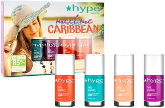 D.E.P.T Hype Nail s 4Pc Meet Me At The Caribbean Fast-Drying Nail Polish Collection