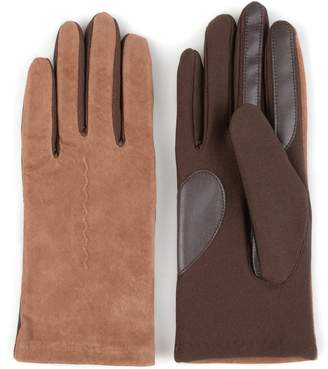 Journee Collection Women's Fleece-Lined Suede Tech Gloves
