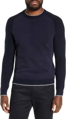 Ted Baker Smug Slim Fit Crewneck Sweater