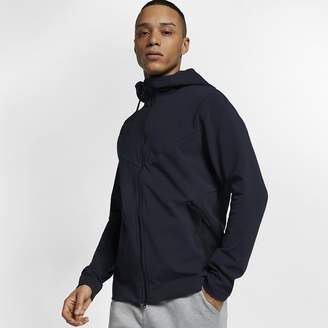 Nike Men's Full-Zip Knit Hoodie Sportswear Tech Pack