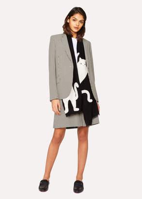 Paul Smith Women's 'Dogtooth' Cotton Skirt