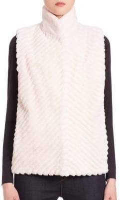 The Fur Salon Reversible Fur Vest