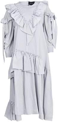 Simone Rocha Ruffle Bow Dress