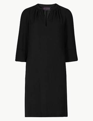 Marks and Spencer PETITE 3/4 Sleeve Shift Dress