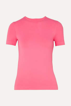Helmut Lang Baby Stretch-jersey T-shirt - Pink